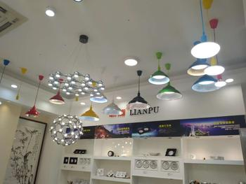 Supermarket lamp with different size